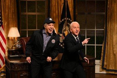 Watch: Jason Sudeikis returns to 'SNL,' revives Joe Biden impression